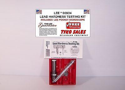 90924 * LEE LEAD HARDNESS TESTING KIT