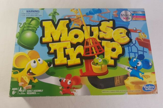 Hasbro Mouse Trap Board Game Mensa for Kids Hasbro Gaming Kids Board Game 2016