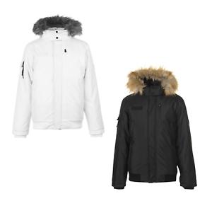 EVERLAST Inverno Giacca Giacca Uomo Inverno Cappotto Jacket Cappuccio Urban 6187