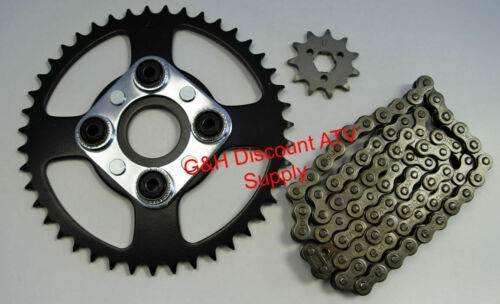 520 x 84 Chain /& 11T Front 43T Rear Sprockets Kit for 1984-1986 Honda ATC 200S