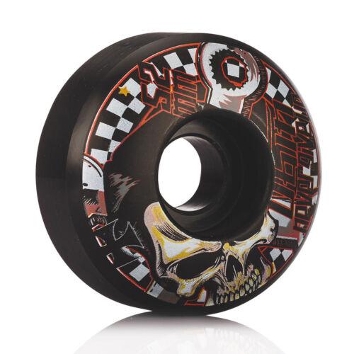 4pcs professionelle schwarze und rote Skateboard Räder 52 x 30mm neu