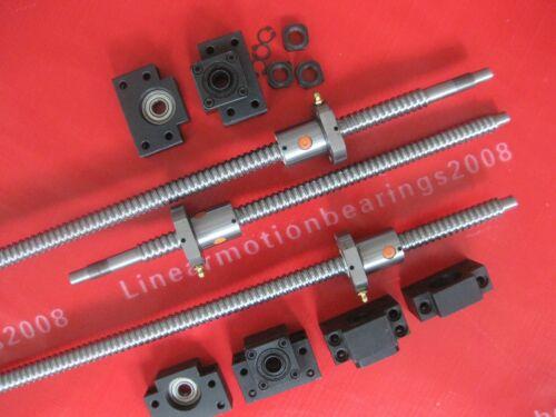 3 ballscrews RM1605-686//605//453mm end-M 3 BK//BF12