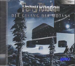 PERRY-RHODAN-CD-Hoerspiel-Der-Gesang-der-Motana-Sternenozean-NEU-amp-OVP