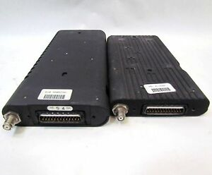 2 Vintage Motorola Car Mobile Cell Phone Modules