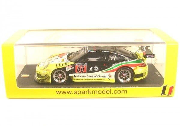 Porsche 997 gt3 R nº 66 24 hours of spa 2013 (harthy-konopka-Raska-Schelp)