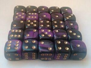 A-set-of-10-Oblivion-12mm-spot-dice-D6-RPG-039-s-DND-D-amp-D-wargame