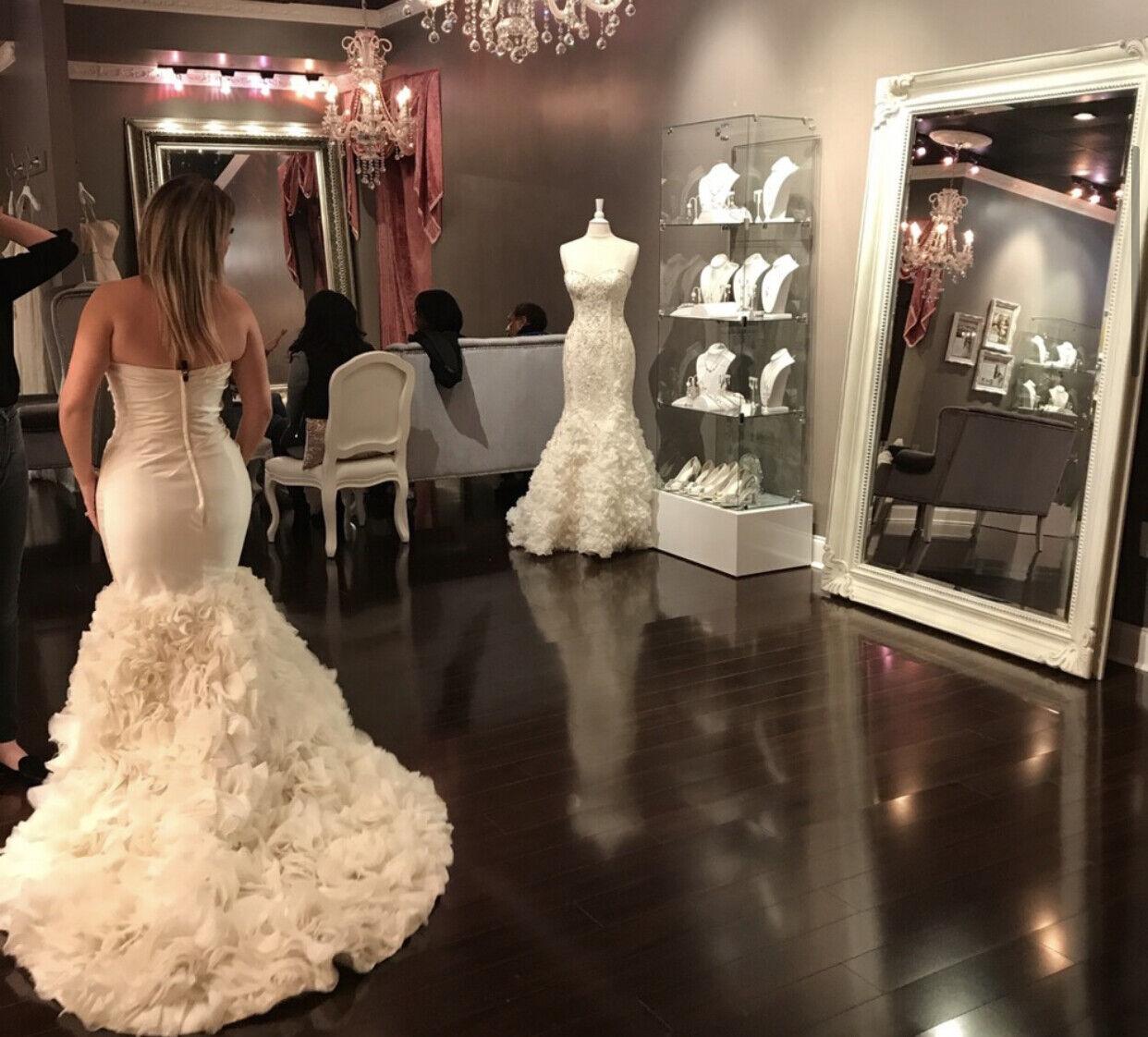 Winnie Couture Janine 8437 Wedding Dress - image 3