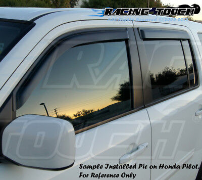 5pcs Out-Channel Visor Rain Guards Sunroof Combo For Infiniti QX56 2004-2010