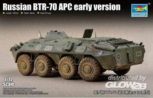 Trumpeter Russian BTR-70 APC early version 9367137 1:72 Trumpeter 07137  X