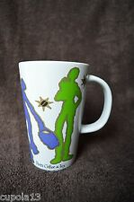 PEET'S Coffee & Tea Tall Mug Shopping Figures & Dog Multi-Color by America Ware