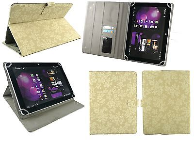 """Universal Multi Angle Wallet Case Cover Stand with Stylus for 7"""" -8""""inch Tablet"""