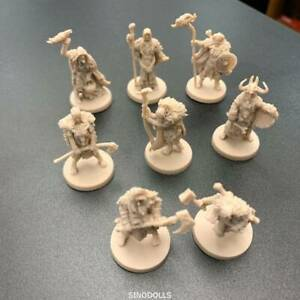 Random-6-pcs-Fit-For-Dungeons-amp-Dragon-D-amp-D-Nolzur-039-s-Marvelous-Miniatures-figures