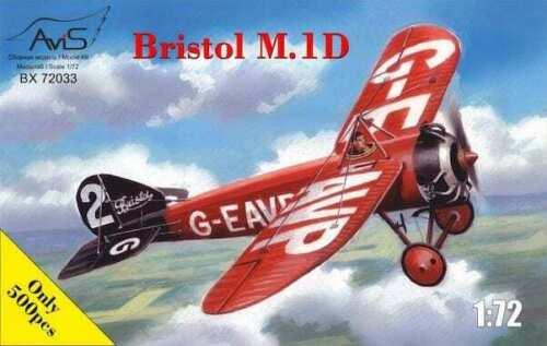 1:72 Avis #72033 Bristol M.1D