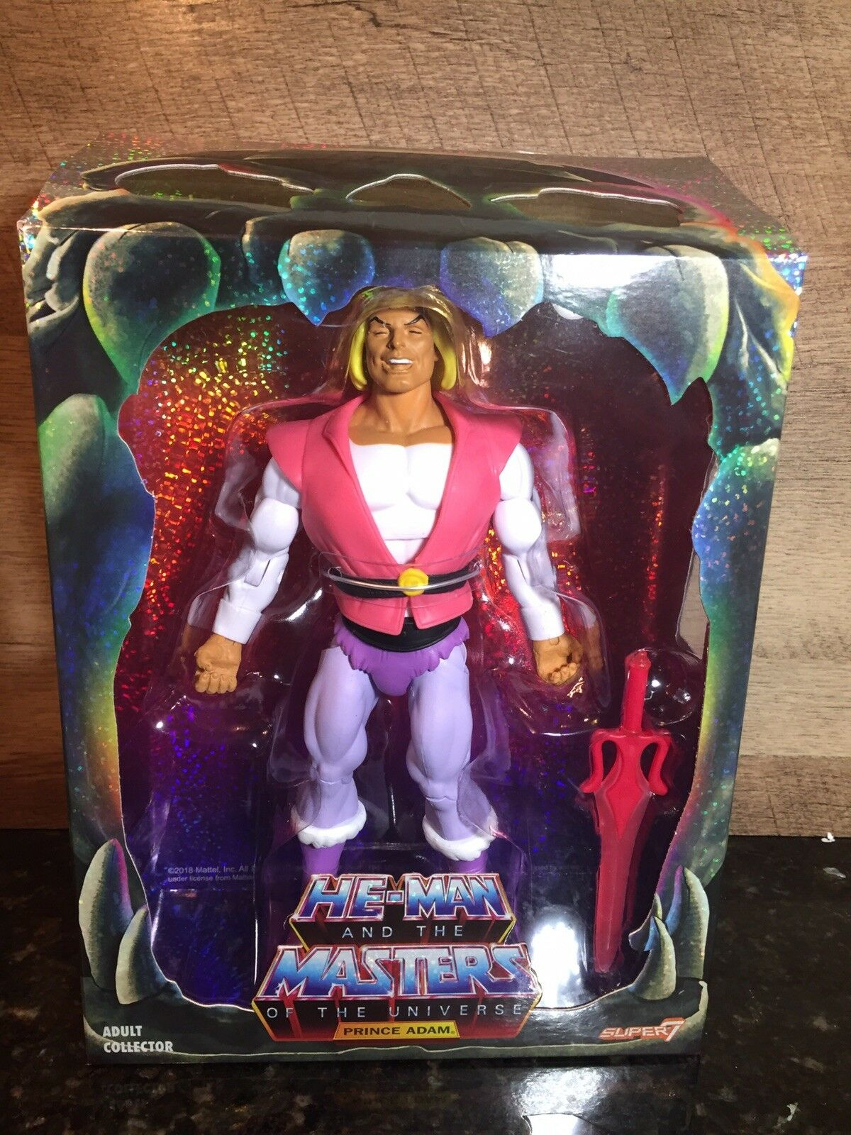 2018 SDCC Masters Of The Universe Classics Prince Adam Laughing Laughing Laughing  9a1bd9
