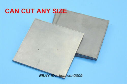 100mm x 100mm x 1mm Titanium Plate Purity Ti Sheet 1mm Thick TA2 Grade 2 Tool