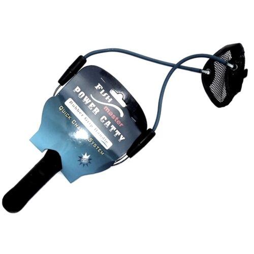 Futterschleuder Madenschleuder Boilieschleuder zum genauen Anfüttern HP732