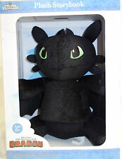 Zoobies How to Train Your Dragon Toothless Plush Soft Toy + Storybook Book Buddy