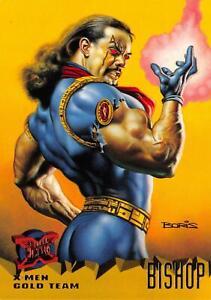 BISHOP-X-Men-Fleer-Ultra-1995-BASE-Trading-Card-101