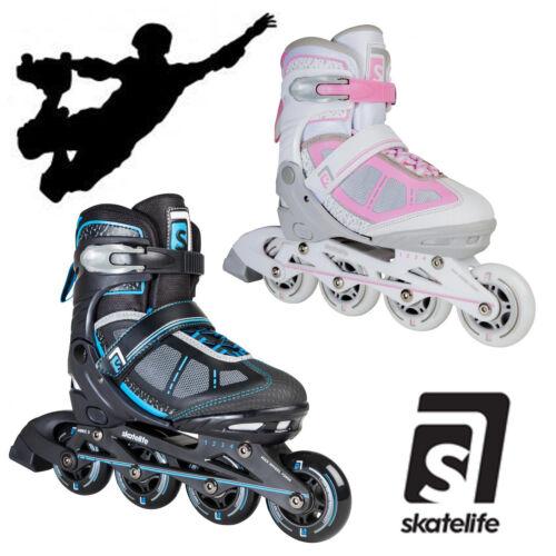 Skatelife Lava Adjustable Inline Skates Abec 7 Adults Kids Roller Skates Unisex