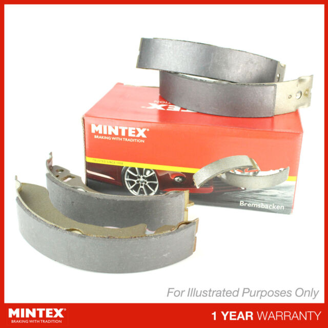 Matching OE Quality Mintex Rear Brake Shoe Set