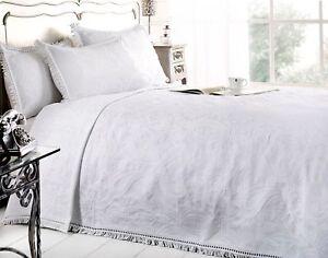neu mafalda wei tagesdecke portugiesisch stil sofabett berwurf mix baumwolle ebay. Black Bedroom Furniture Sets. Home Design Ideas