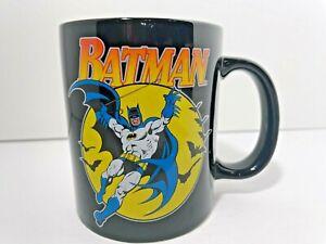 Batman-Superhero-Coffee-Cup-Large-Mug-TM-amp-DC-Comics-Black-Ceramic-FREE-SHIPPING