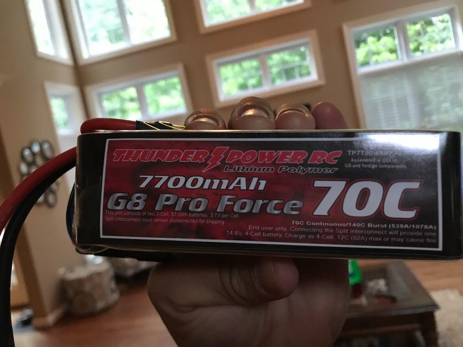 Donner tiger 7700mah g8 - profi macht 70 4s 14.8v lipo akkus