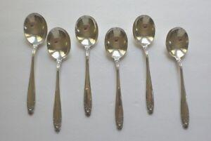 International Prelude Sterling Silver  Cream Soup Spoon