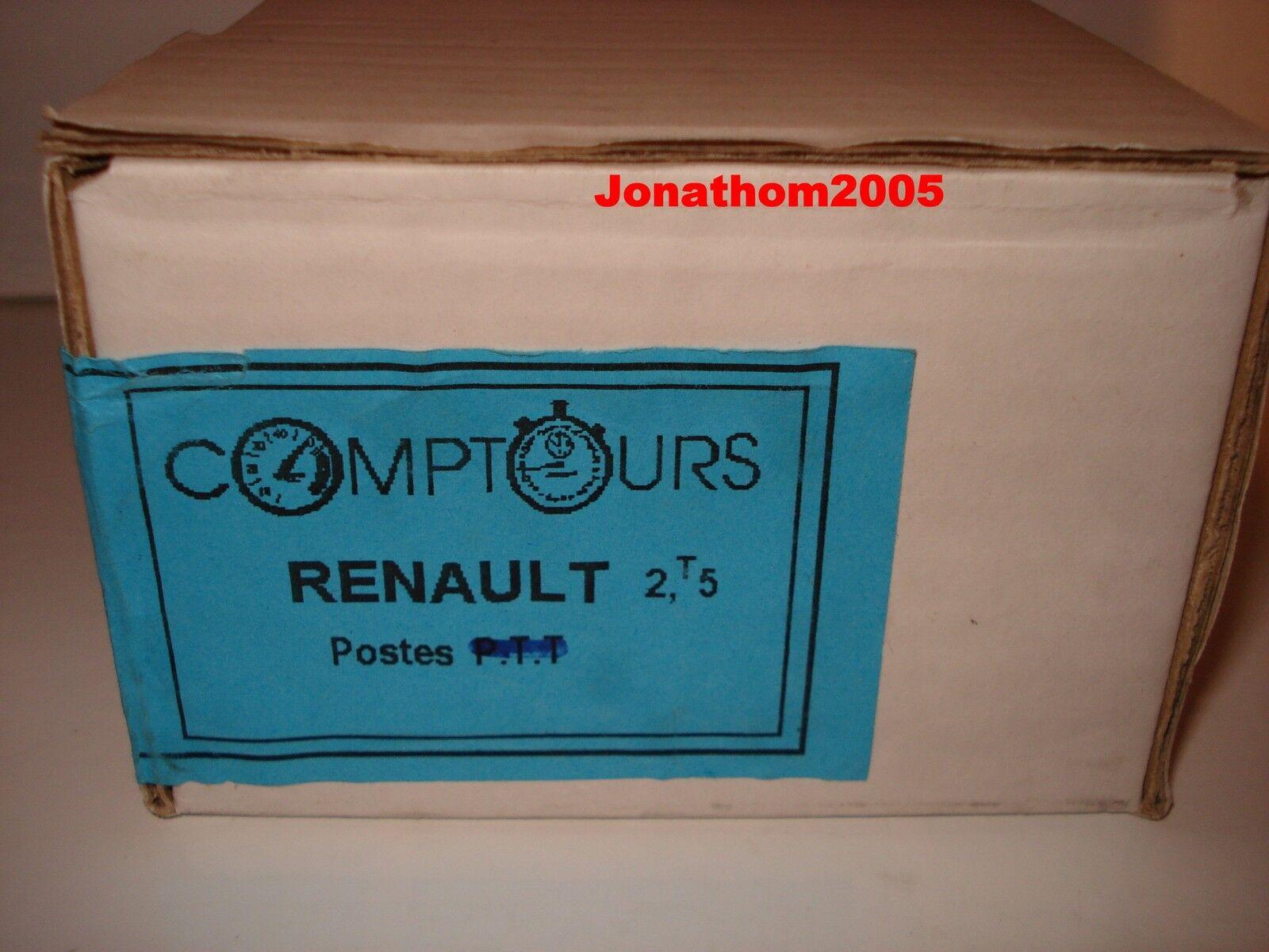 Set Aufbau comptours renault 2T5 Positionen die 1 50° 50° 50° dedaf0