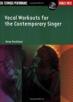 Vocal Workouts For The Contemporary Singer (vocal) (berklee Press) By Anne Peckh on sale