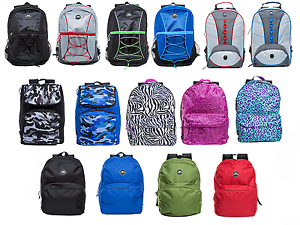 NEW-Unisex-Lightweight-Travel-Sports-School-Rucksack-Backpack-Shoulder-Book-Bag