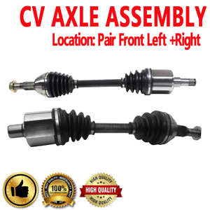 Front Pair CV Axle for BUICK LESABRE LUCERNE RIVIERA Naturally Aspirated V6 3.8L