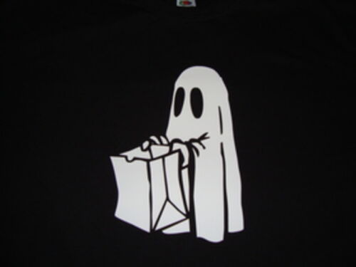 Ghost Trick or Treat Halloween T-Shirt