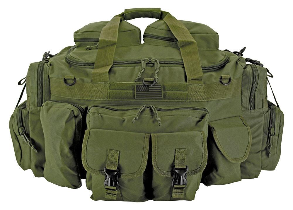 EastWest XL Tank Tactical Duffle Bag Operator Deploy Shooter Gear Bag OD Grün