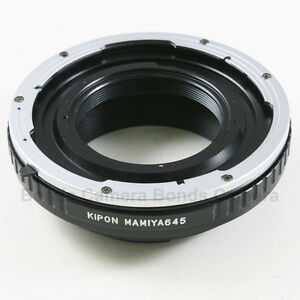 Kipon-Mamiya-645-Mount-Lens-to-Canon-EOS-EF-Mount-Adapter-5D-II-III-7D-60D-600D