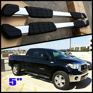 For 5 Quot Oval Aluminum Nerf Bars Side Step 05 18 Toyota