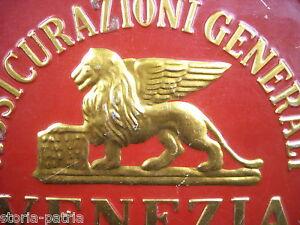 PUBBLICITARIA_ASSICURAZIONI_VENEZIA_LEONE ALATO_DECORATIVA_DA COLLEZIONE_GENOVA - Italia - PUBBLICITARIA_ASSICURAZIONI_VENEZIA_LEONE ALATO_DECORATIVA_DA COLLEZIONE_GENOVA - Italia