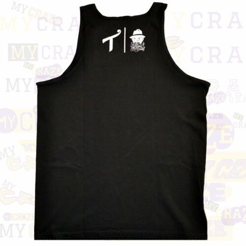 Through The Wire Black Tank Top TWO IN THE SHIRT T.I.T.S