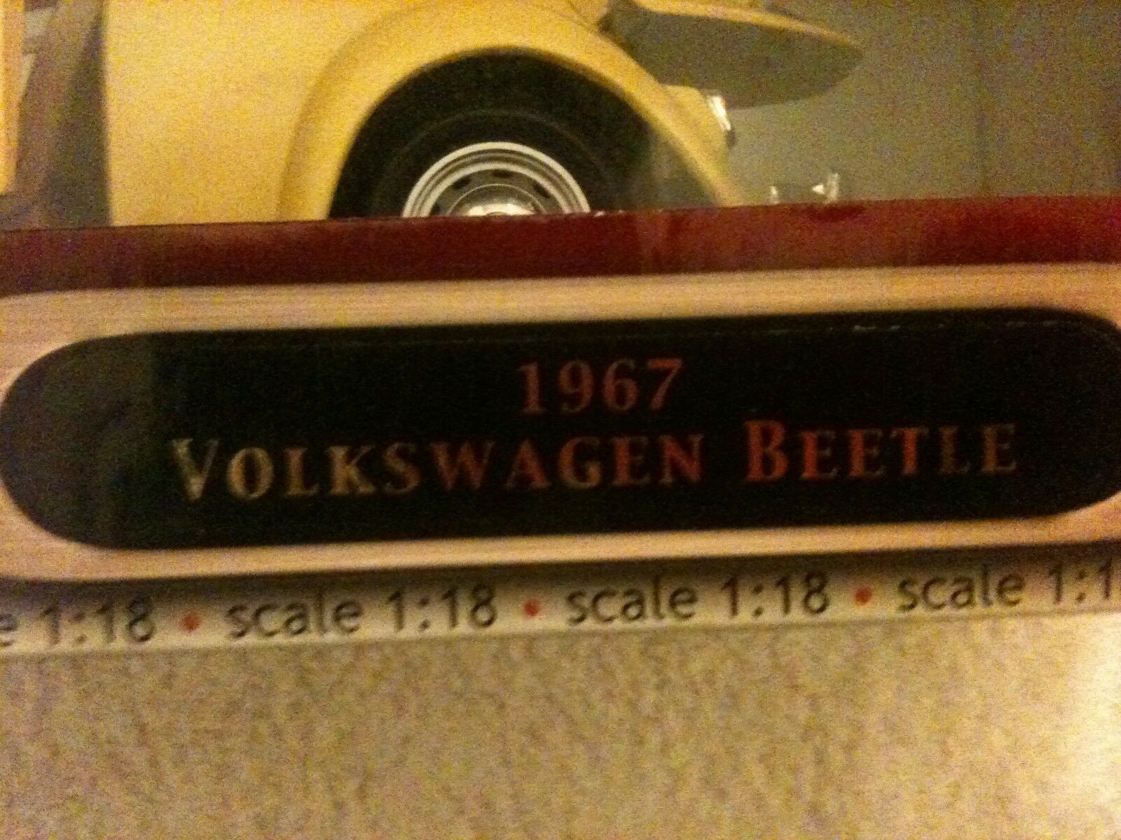 1967 VOLKSWAGEN BEETLE CAR CAR CAR DIE CAST METAL DELUXE EDITION QUALITY HAND MADE 0abeb3