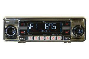 Classic Becker Mexico Europa Retro Style Stereo Radio Cd Usb Aux Din