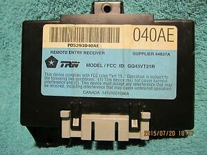 Image Is Loading Ships Same Day Chrysler 05293040ae Remote Keyless Entry