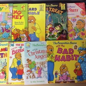 Lot of 8 Berenstain Bears Children Kids Stan & Jan Picture Books MIX UNSORTED