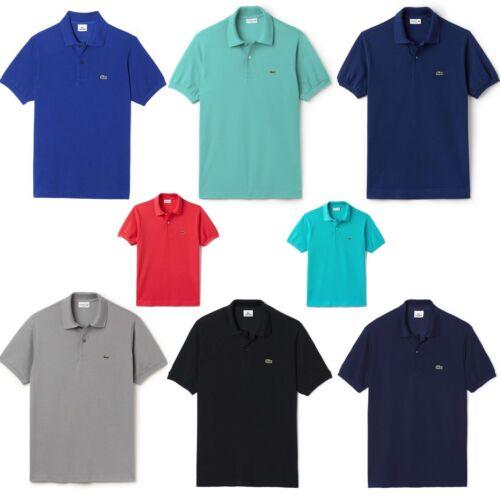 T Lacoste shirt 100 cotone New T uomo Tee tinta in classica da shirt a corte cotone unita maniche AqxwFHAZr