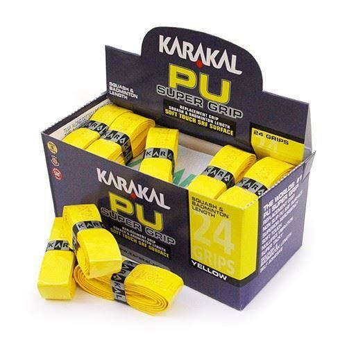 Karakal PU Supergrip Replacement Racquet Grip tennis squash Pink, 2 x Grips badminton