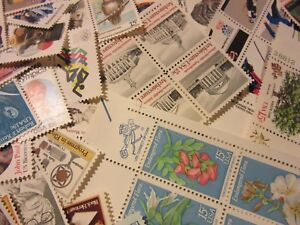 Older MINT US Postage Stamp Lots, all different MNH 15 CENT COMMEMORATIVE UNUSED