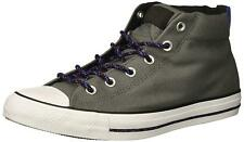 d5ef3bfc50c8 Converse Chuck Taylor Street Mid Men US 10 Black Pre Owned Blemish ...