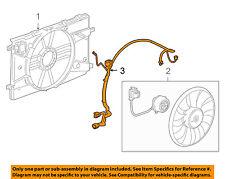 oem gm cooling fan wiring harness 96999733 chevrolet cruze 1 4 2011 rh ebay com