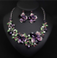 Fashion-Women-Crystal-Chunky-Pendant-Statement-Choker-Bib-Necklace-Jewelry thumbnail 8