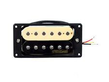 Wilkinson Guitare Électrique Micro Humbucker Zèbre MWHZ - Pont