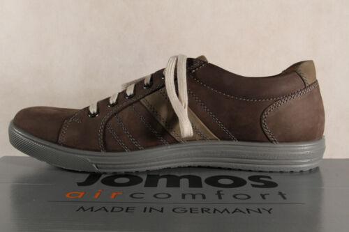 Jomos aircomfort Herren Schnürschuh Sneakers Halbschuh 314206 braun Leder  NEU